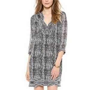 Diane von Furstenberg Lexie Printed Dress Size 8